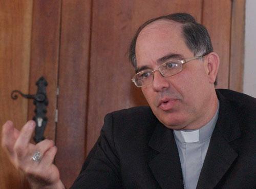 Monseñor Jesús González de Zárate, Obispo Auxiliar de Caracas | Foto archivo