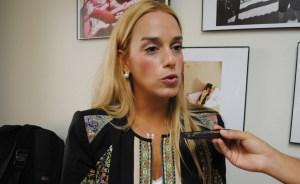 Lilian Tintori llega a Washington para pedir ayuda internacional