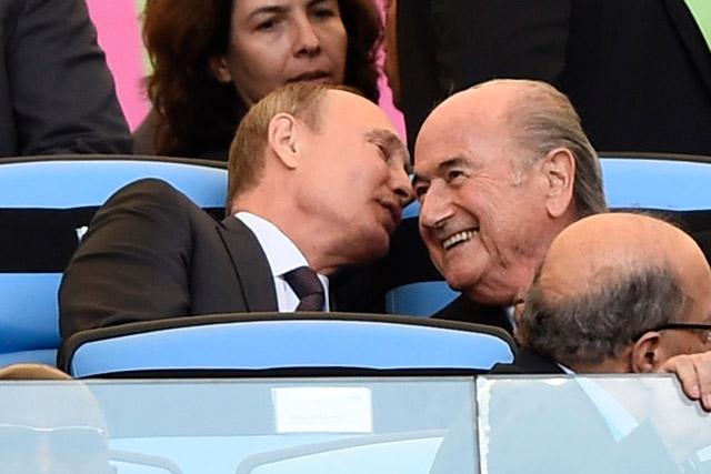 Putin-Maracana-Blatter