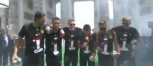 La burla de la selección de Alemania hacia Argentina en plena celebración (Video)