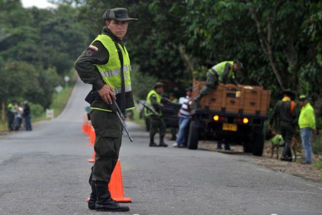 Policía Colombiana. Foto: Archivo