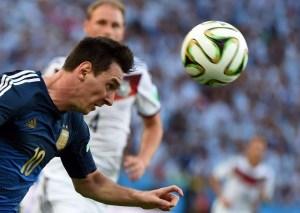 Excelentes imágenes del primer tiempo de la final Mundial Alemania – Argentina