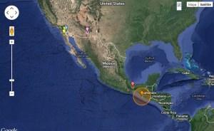 Fuerte sismo sacude México y Guatemala; dos muertos