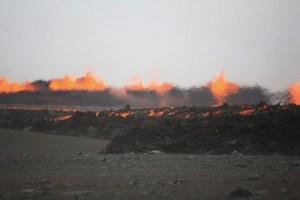 Alerta roja en Islandia tras una nueva erupción volcánica
