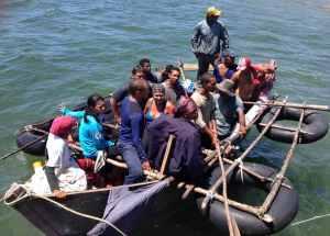 Así son los barcos que usan los cubanos para huir de la isla comunista (Fotos)