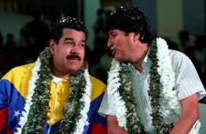Evo Morales llama a Maduro casi todos los días