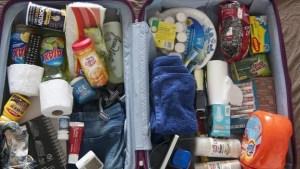 Lo que una cubana lleva en su maleta a Cuba a su regreso de Miami