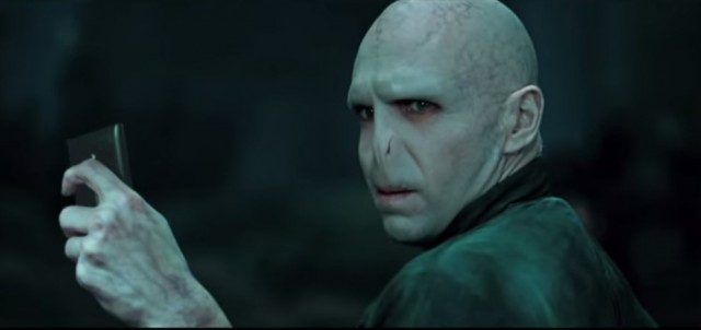 Voldemort selfie