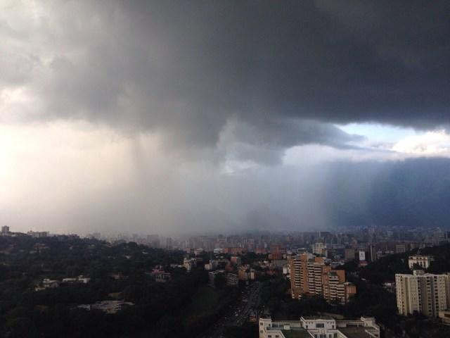 Caracas lluvia