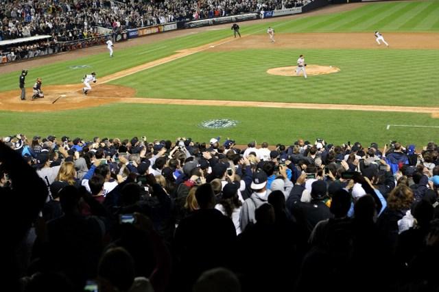 Imagen de archivo del Yankee Stadium. Al Bello/Getty Images/AFP