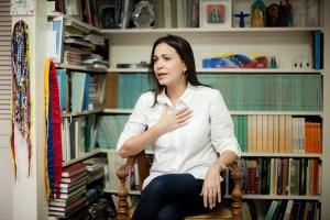 María Corina Machado: Los venezolanos sufrimos un bloqueo económico, físico y espiritual