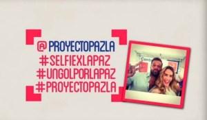 .@ProyectoPazLA lanza su campaña #SelfiexlaPaz y @Ricky_Martin se suma (Foto)
