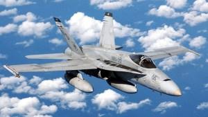 Dos cazas F-18 estadounidense se estrellan en el Océano Pacífico
