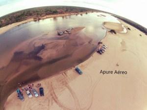 Paisajes aéreos apureños de la Ruta de Gallegos tomadas por un drone (Fotos y Videos)