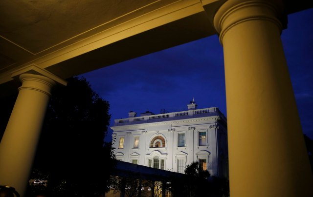 La Casa Blanca, en Washington DC  (Foto Reuters)