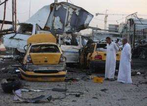 Al menos 15 muertos deja atentado suicida en Bagdad (Fotos)