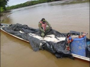 Destacamento Fluvial decomisó 2000 kilos de pescado