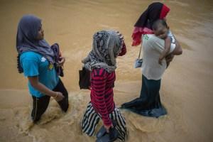 Treinta muertos en Filipinas por tormenta tropical y 10 en Malasia por inundaciones