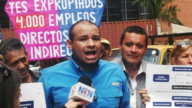 Foto: Carlos Julio Rojas, coordinador de la Asamblea de Ciudadanos de Candelaria
