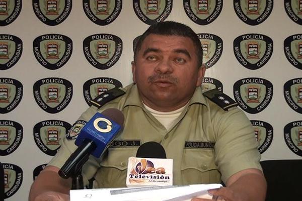 Foto: Jose Lugo, Director de la  Policia de Carirubana