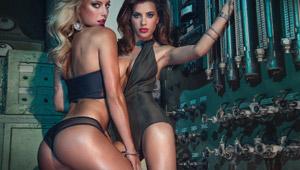 Bien lubricadito… uno de los mejores calendarios HOT para el 2015 (bellas y desnudas)