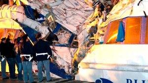 Rescatan segundo cadáver en Italia tras el naufragio de un mercante turco