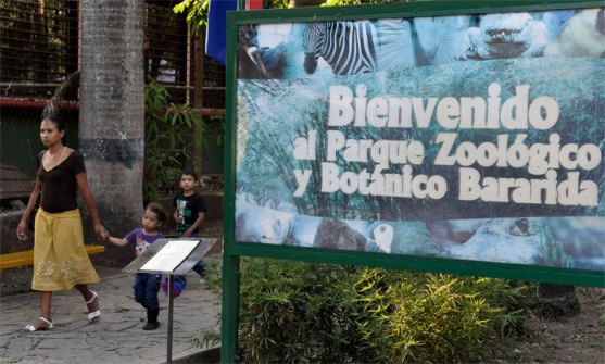 Parque zoológico y botánico Bararida el 12 de abril de 2013.