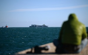 """El """"Norman Atlantic"""", próximo al puerto de Bríndisi"""