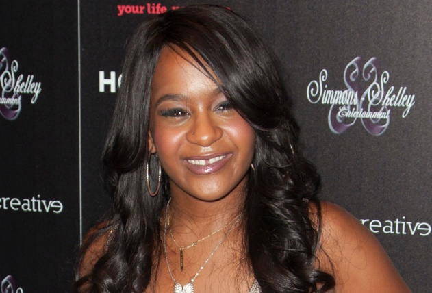"Bobbi Kristina Brown attends the opening night of ""The Houstons: On Our Own"" in New York"