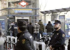 Detenido por amenaza en estación de Madrid es un enfermo y no un terrorista