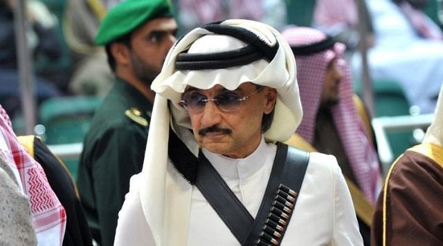 El Príncipe de Arabia Saudita Alwaleed bin Talal / Foto Reuters