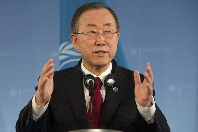 Foto:  Secretario general de la ONU, Ban Ki-moon / EFE