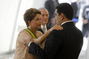 Rousseff se reúne este viernes con Maduro