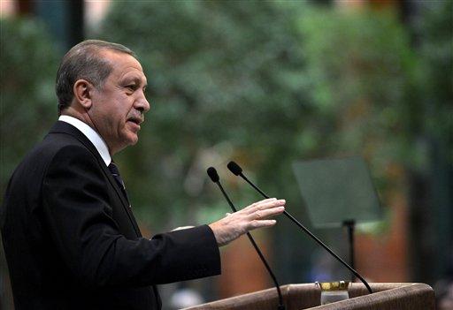 El presidente Recep Tayyip Erdogan en Estambul / AP