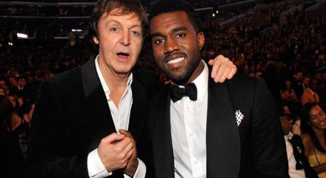 Foto: Kanye West y Paul McCartney / biobiochile.cl