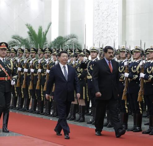 Maduro-china