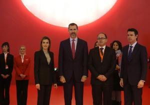 Los Reyes de España inauguran Fitur 2015