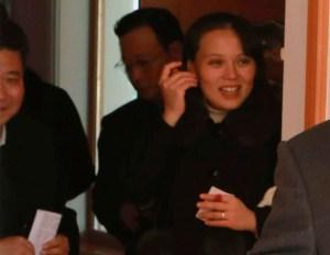 La hermana del líder norcoreano lució anillo de casada
