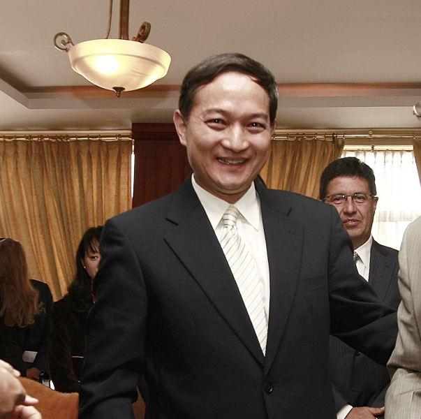 Foto:  Zhang Kunsheng / viceministro chino de Relaciones Exteriores en China