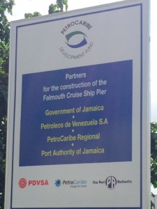¡Qué chévere! Pdvsa aportó dólares para puerto de cruceros de lujo en Jamaica (Fotos)