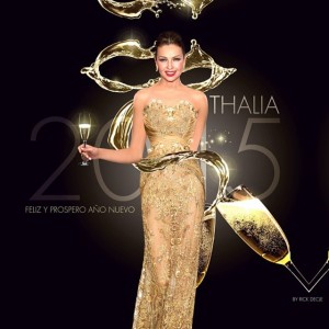 Thalía hace un recuento de sus logros en el 2014 (Video)