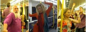 ¿Qué harías si te invitan a bailar en el metro? (Video)