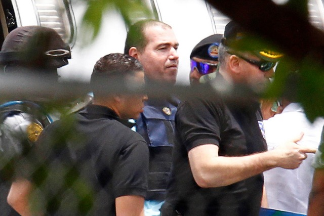 Venezuelan Drug Kingpin Suspect Walid Makled Arrives At Venezuela Airport After Being Extradited From Colombia In