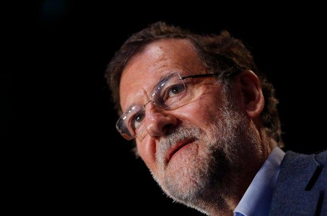 El presidente del Gobierno español, Mariano Rajoy (foto Reuters)