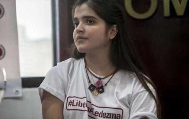 Antonieta Ledezma, hija del alcalde metropolitano, Antonio Ledezma // Foto Archivo