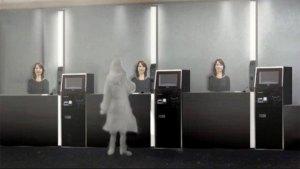 Primer hotel atendido por robots en Japón