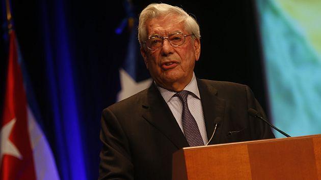 Foto: Mario Vargas Llosa / peru21.pe