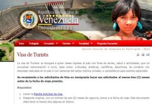 Estos son los requisitos a los estadounidenses que deseen obtener visa hacia Venezuela