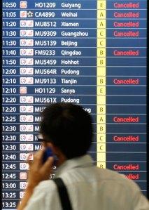 Los aeropuertos chinos son los menos puntuales del mundo