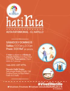 Alcaldía El Hatillo continúa con la HatiRuta, primera ruta turística del municipio